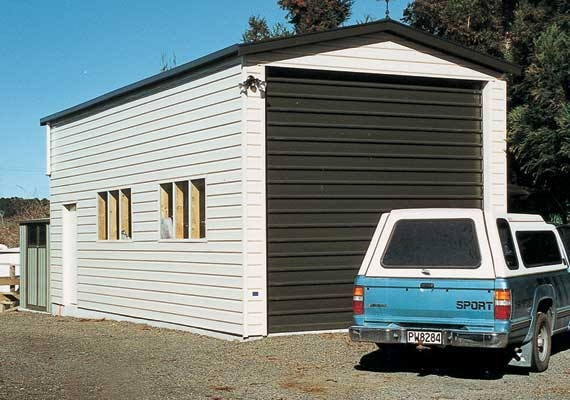 Garages with high stud height.