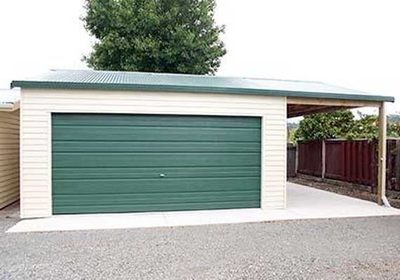 Double garage 6m x 6m garages skyline buildings for Double garage cost