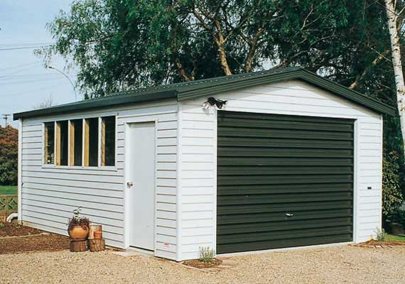 Single garage 6m x garages skyline buildings for Single garage cost