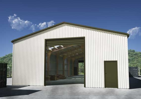 Big Commercial Shed
