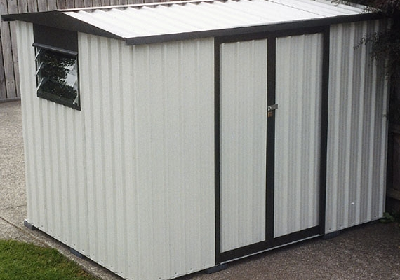 Maxi With Double Sliding Door Garden Sheds Skyline