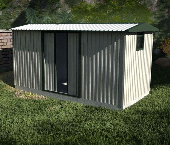 Skyline buildings for Big sheds for garden